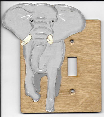 Elephant left, single switch