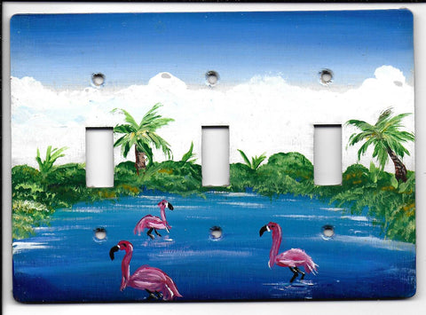 Flamingo 3 Switch switch plate cover
