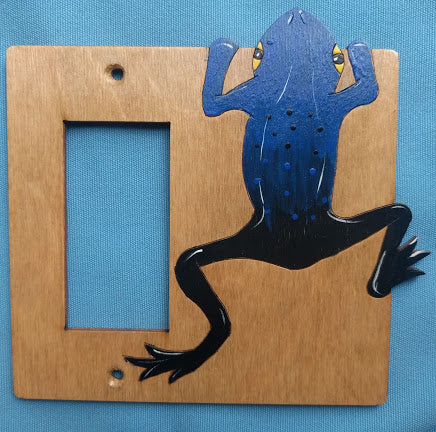 Frog Rocker switchplate