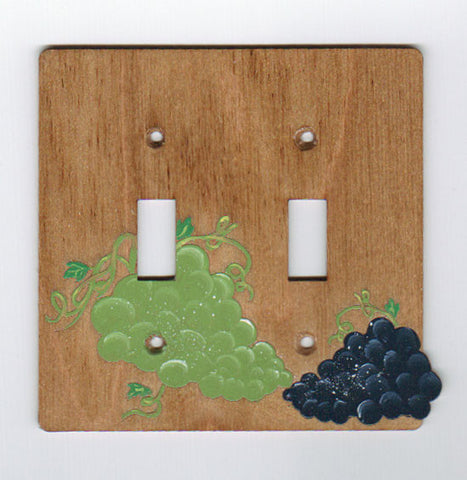 Grapes Double switchplate Cover