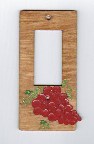 Grapes Rocker Switchplate Cover
