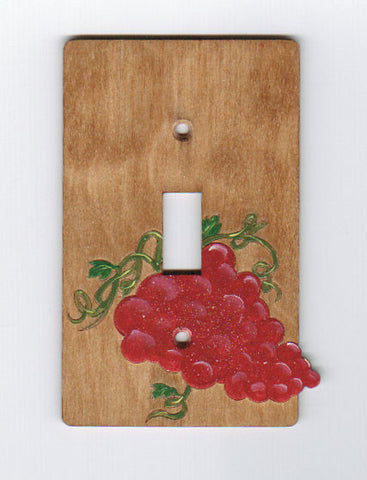 Grapes Single switchplate cover