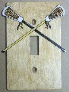 Lacrosse Single switch plate cover