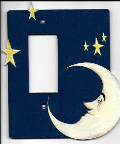 Moon and Stars rocker switch
