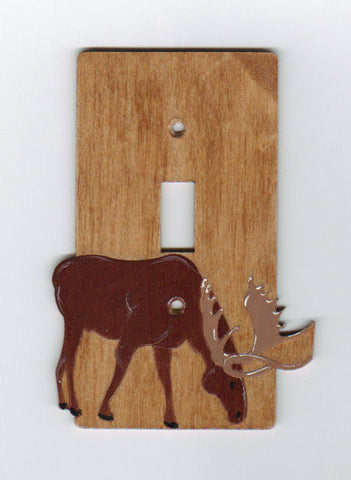 Moose single switch plate cover