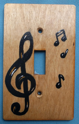 Music G-Clef single switch