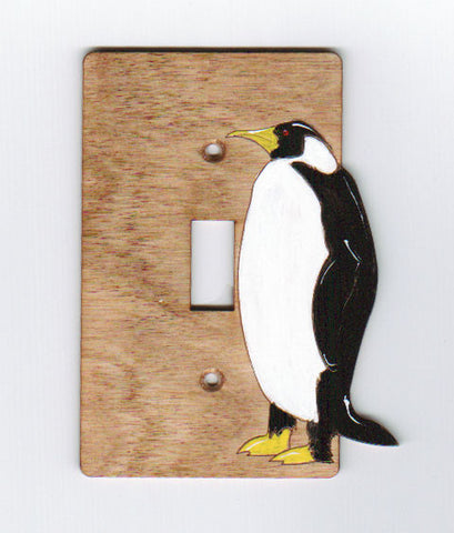 Penquin single switch plate cover