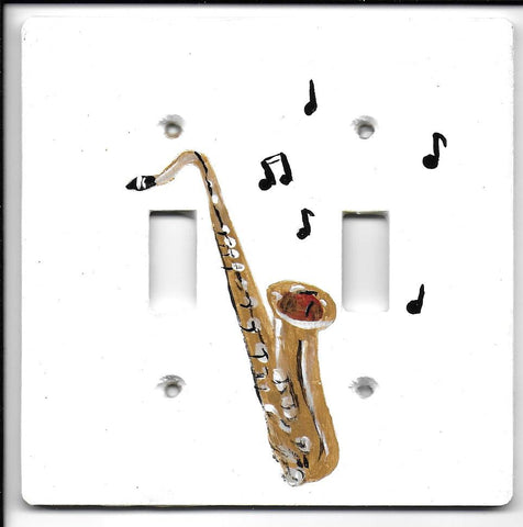 Musical Saxophone Double Switch