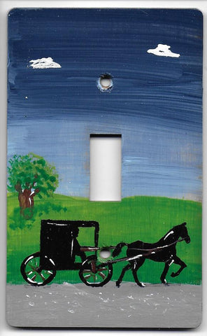 Amish Buggy single switch