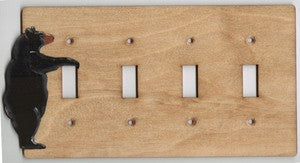 Bear Four Switch plate
