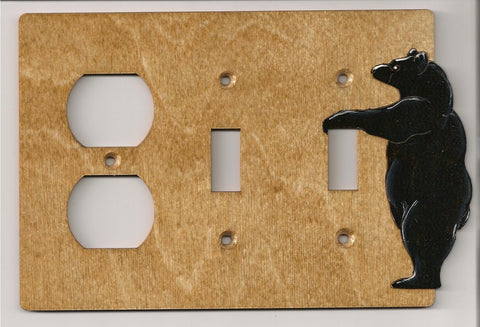 Bear 2 switch plug left switch plate