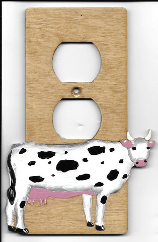 Cow single outlet