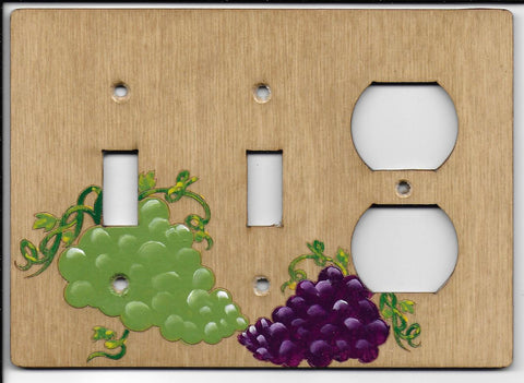 Grapes Double switch one plug right combination