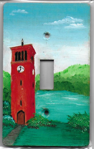landscape Bell Tower scene single switch