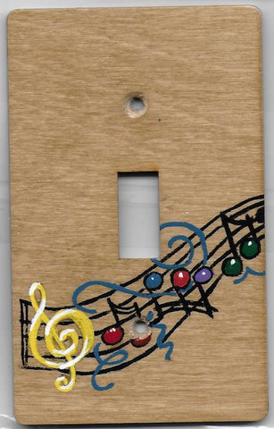 Music Notes single switch