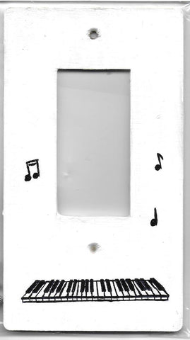 Music Keyboard rocker switch cover