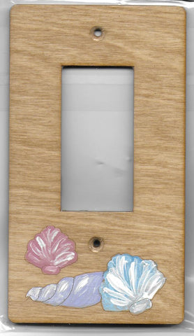 Seashell Rocker switch plate cover