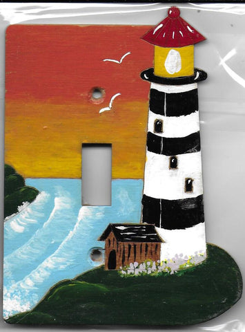 Light house single switch full painted