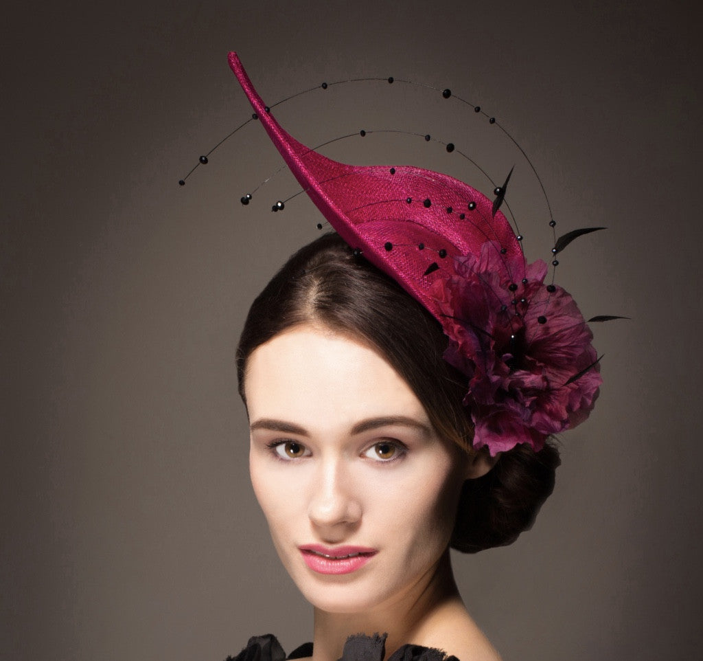 Unique pink hat for Royal Ascot or wedding
