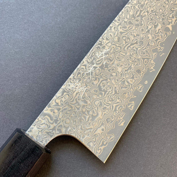 Santoku knife, VG10 stainless steel, damascus finish - Kato