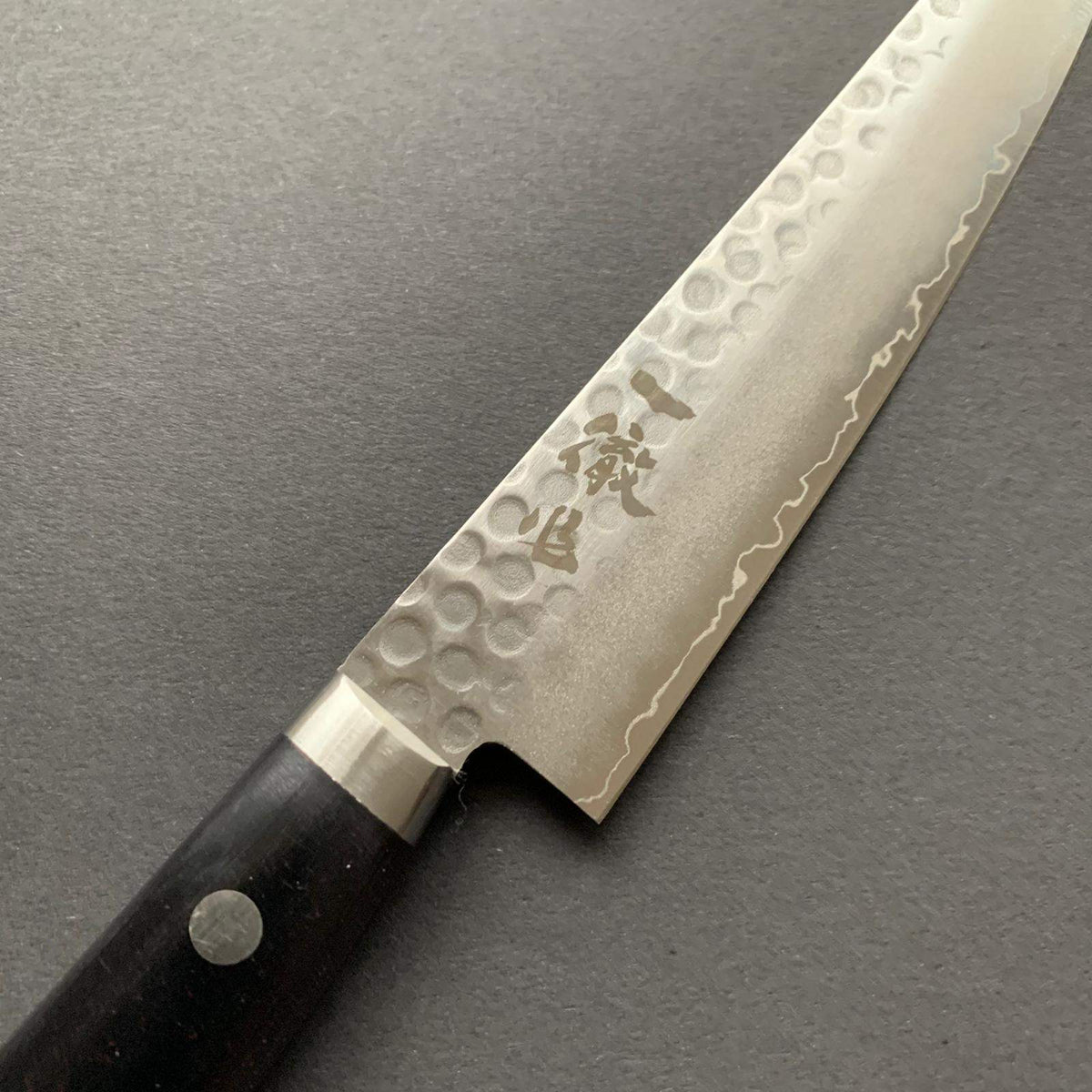 Petty knife, Stainless Steel, Tsuchime finish - Ittetsu