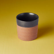 Japanese ceramics - light grey/dark grey/natural mug