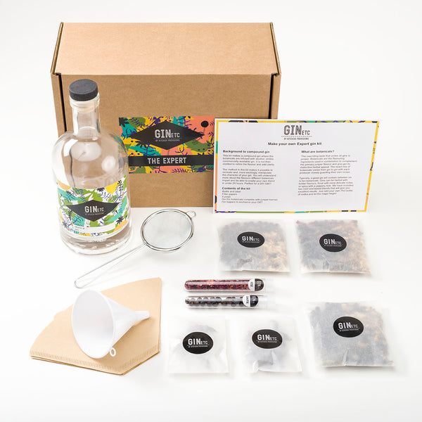 The Expert Gin maker's kit