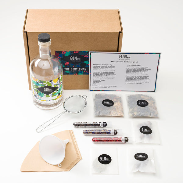 The Gentleman Gin maker's kit
