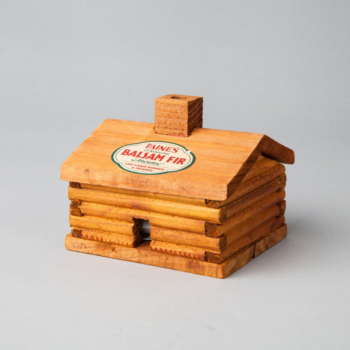 Paine's log cabin incense burner