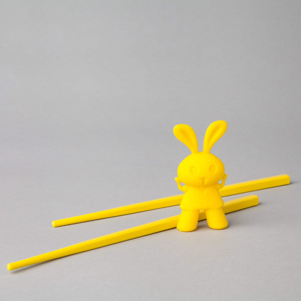 Bunny chopsticks (for little fingers)