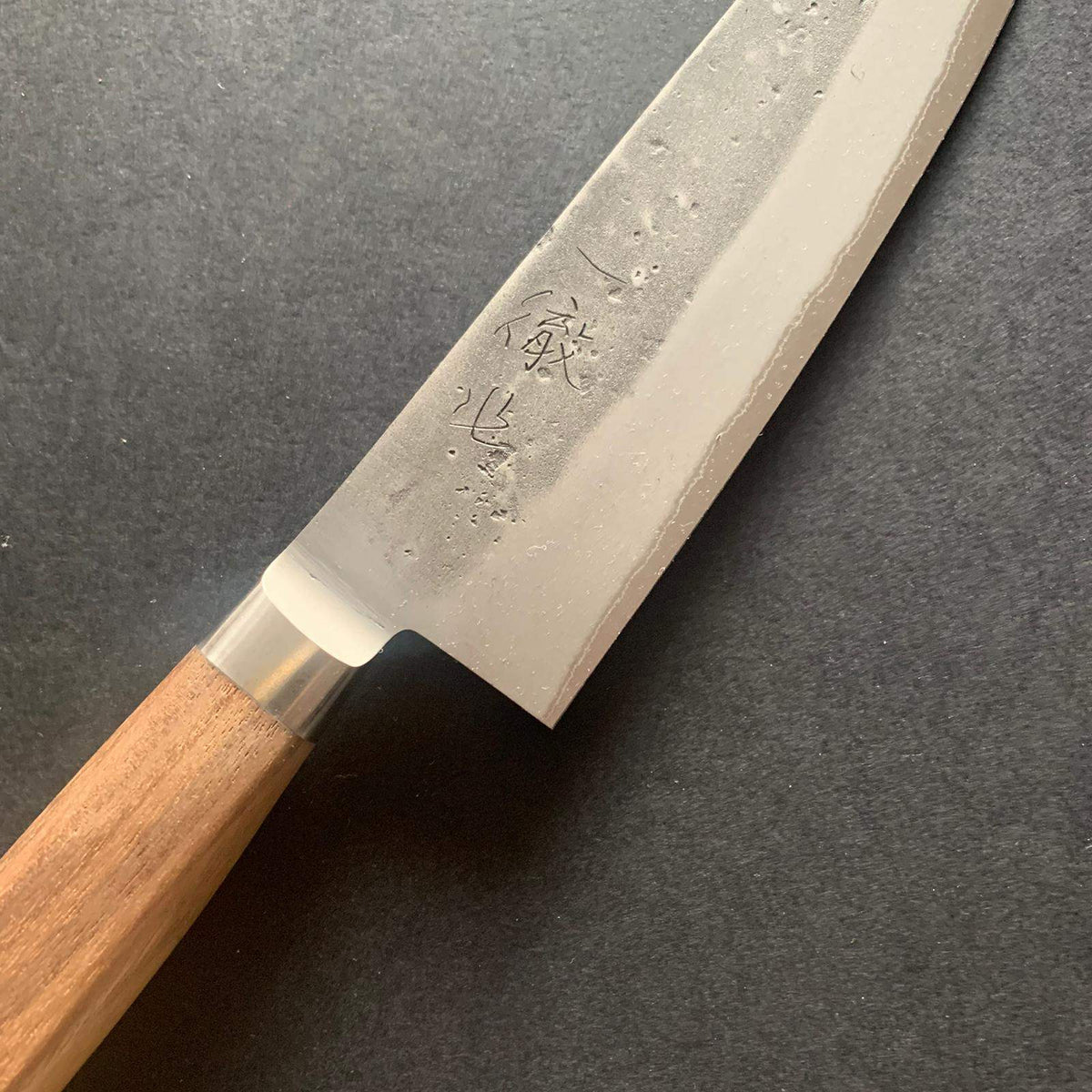 Bunka knife, Aogami 2 core with stainless steel cladding, nashiji finish - Tadafusa