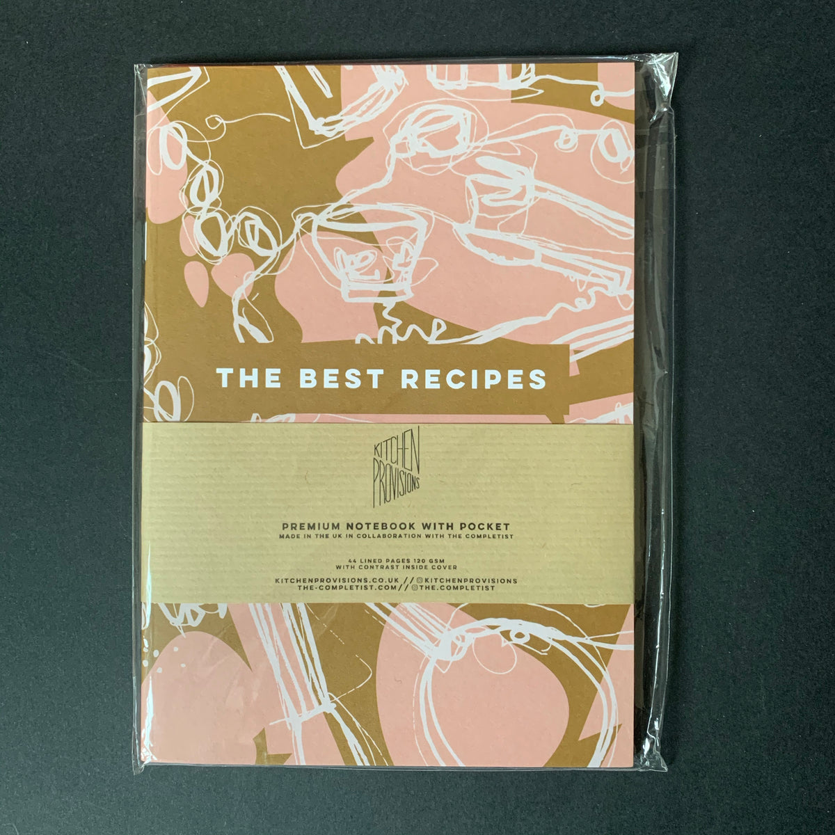 Kitchen Provisions x The Completist - recipe notebooks