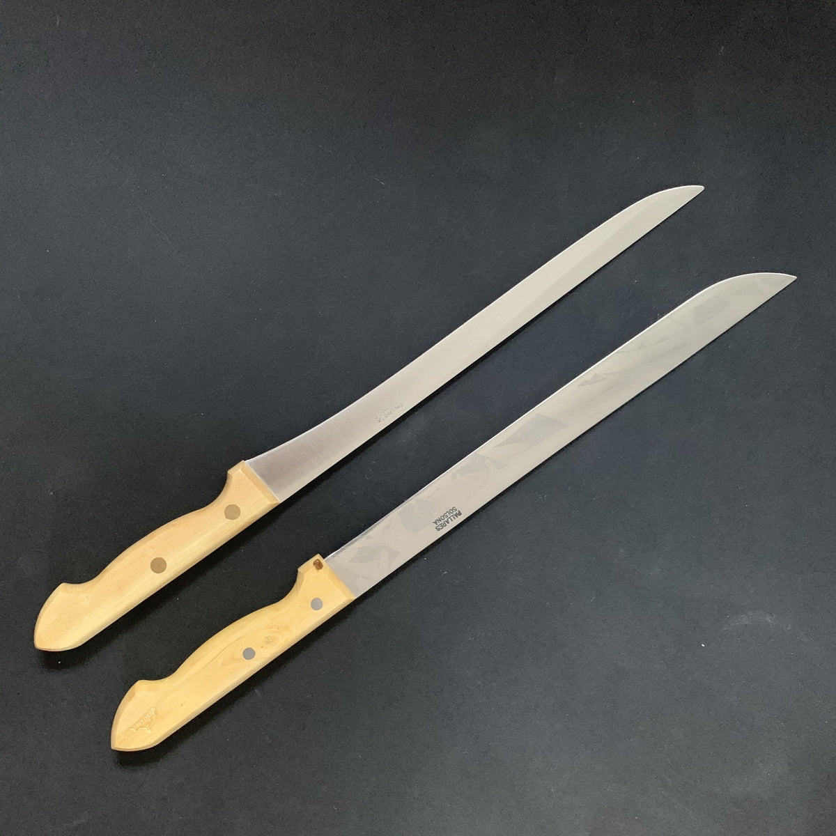 Jamon knife, carbon or stainless steel - Pallares