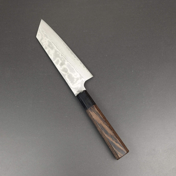 Bunka knife, VG10 stainless steel, damascus finish - Saji