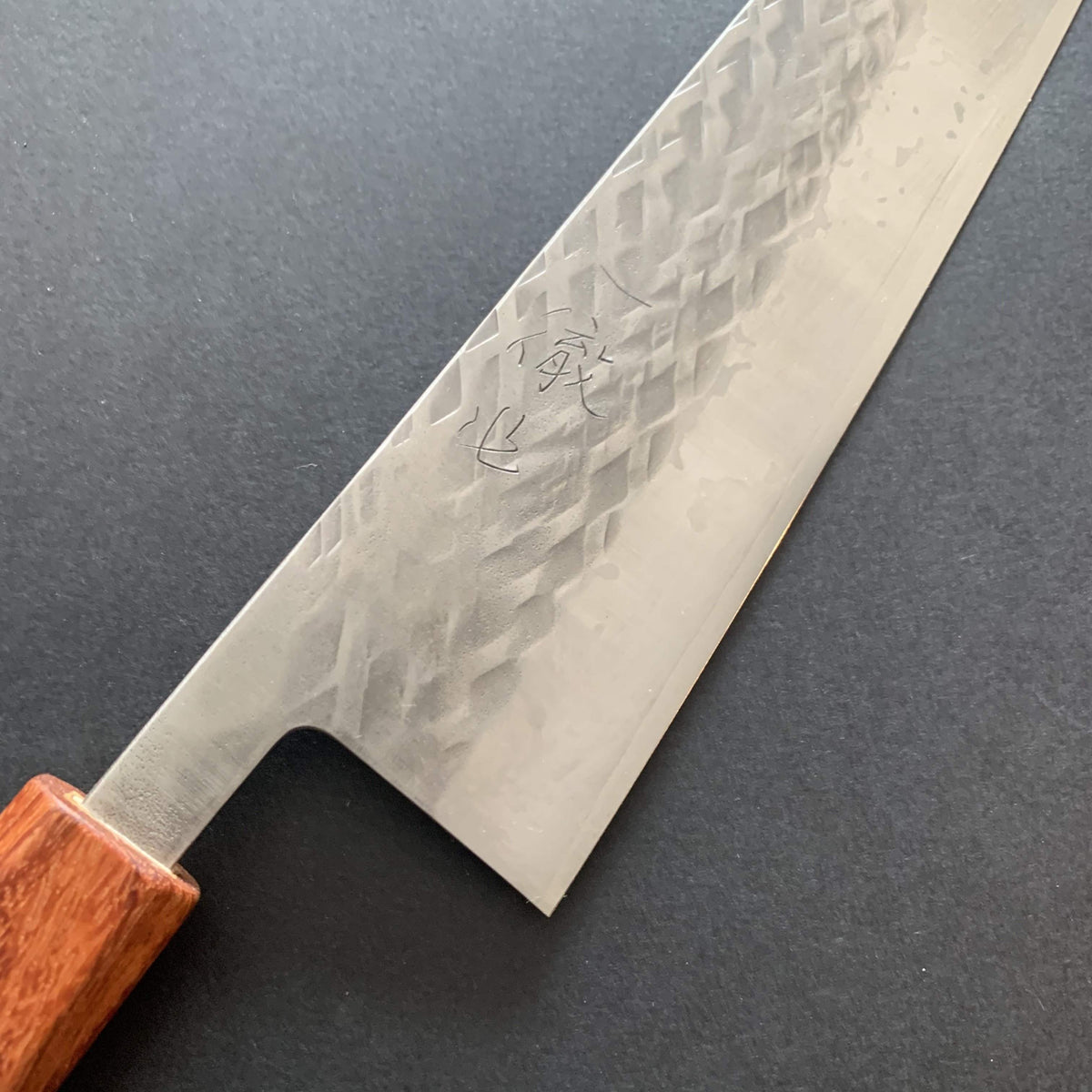 Gyuto knife, SLD steel, tsuchime finish - Tadafusa