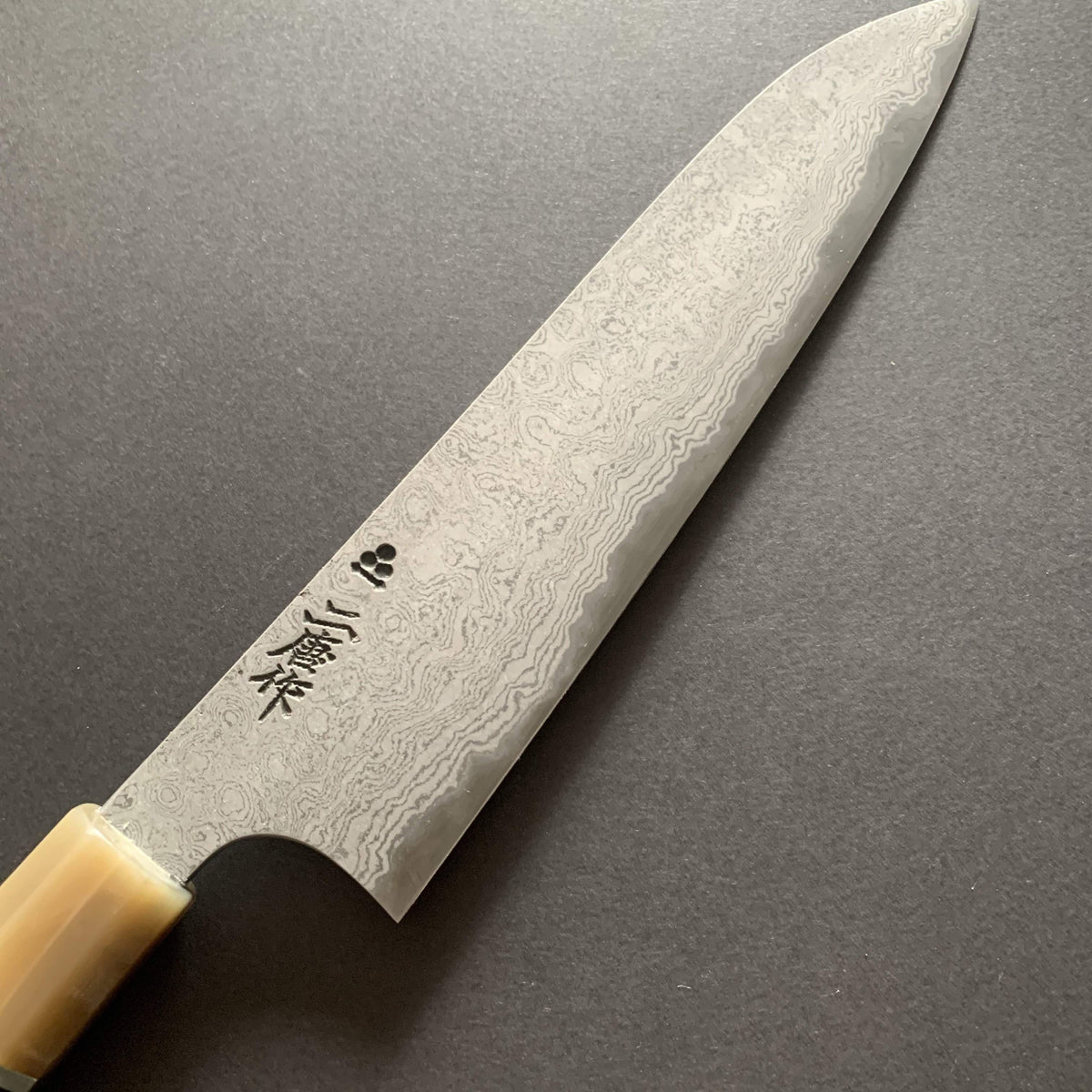 Gyuto knife, SRS13 steel, damascus finish - Nigara