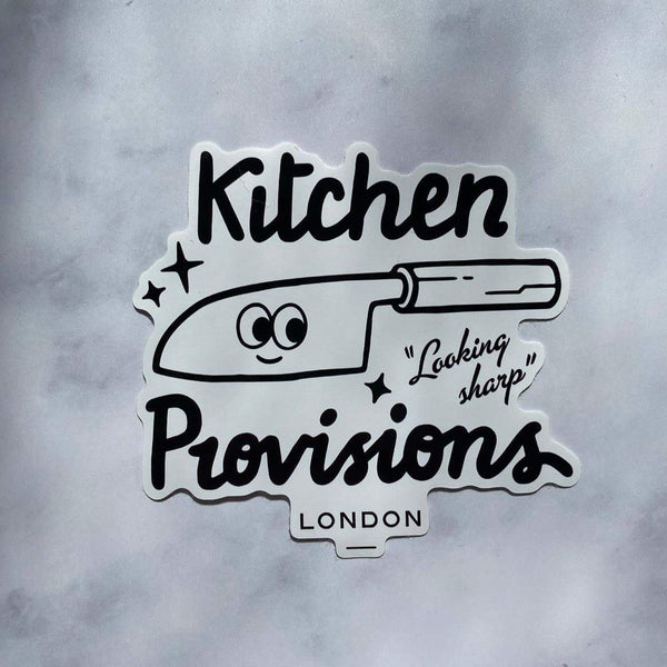 Kitchen Provisions Merch - the stickers