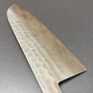Santoku knife, SLD, Tsuchime finish - Ohishi