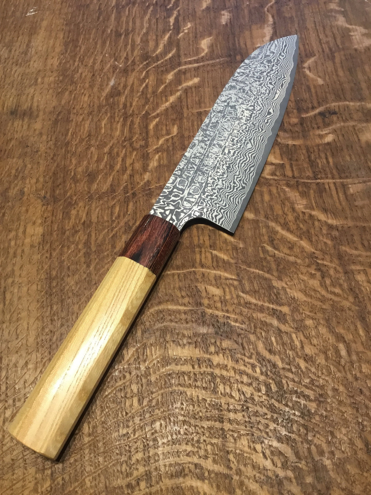 Shiro Camo- R2 Powder Steel - 165mm Santoku