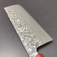 Nakiri knife, SG2 powder steel, damascus finish - Kato