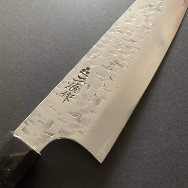 Santoku knife, SG2 powder steel, tsuchime finish - Nigara