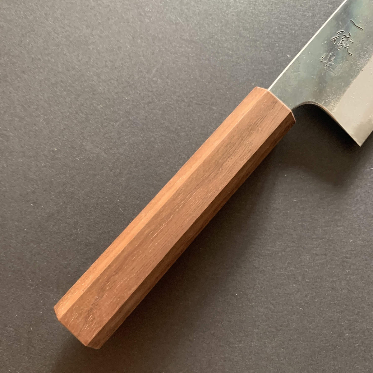 Santoku knife, Shirogami 1, kurouchi finish - Ittetsu