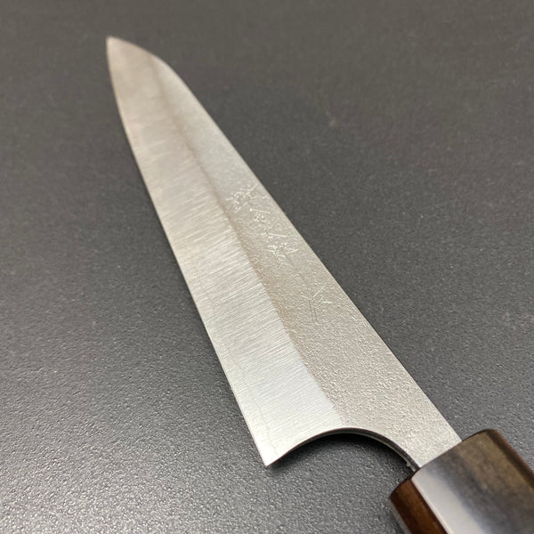 Petty knife, Ginsan stainless steel, nashiji finish - Kanehiro