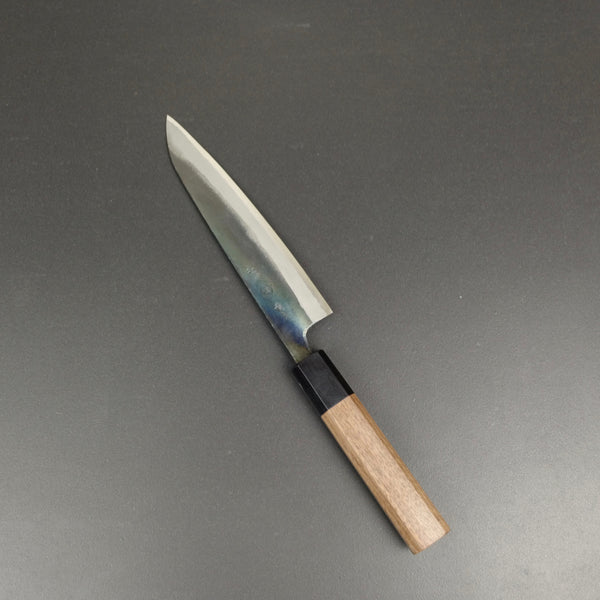 Petty knife, Aogami 2, kurouchi finish - Yamashin