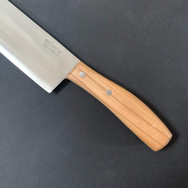Chef knife, stainless steel, olivewood handle - Pallares