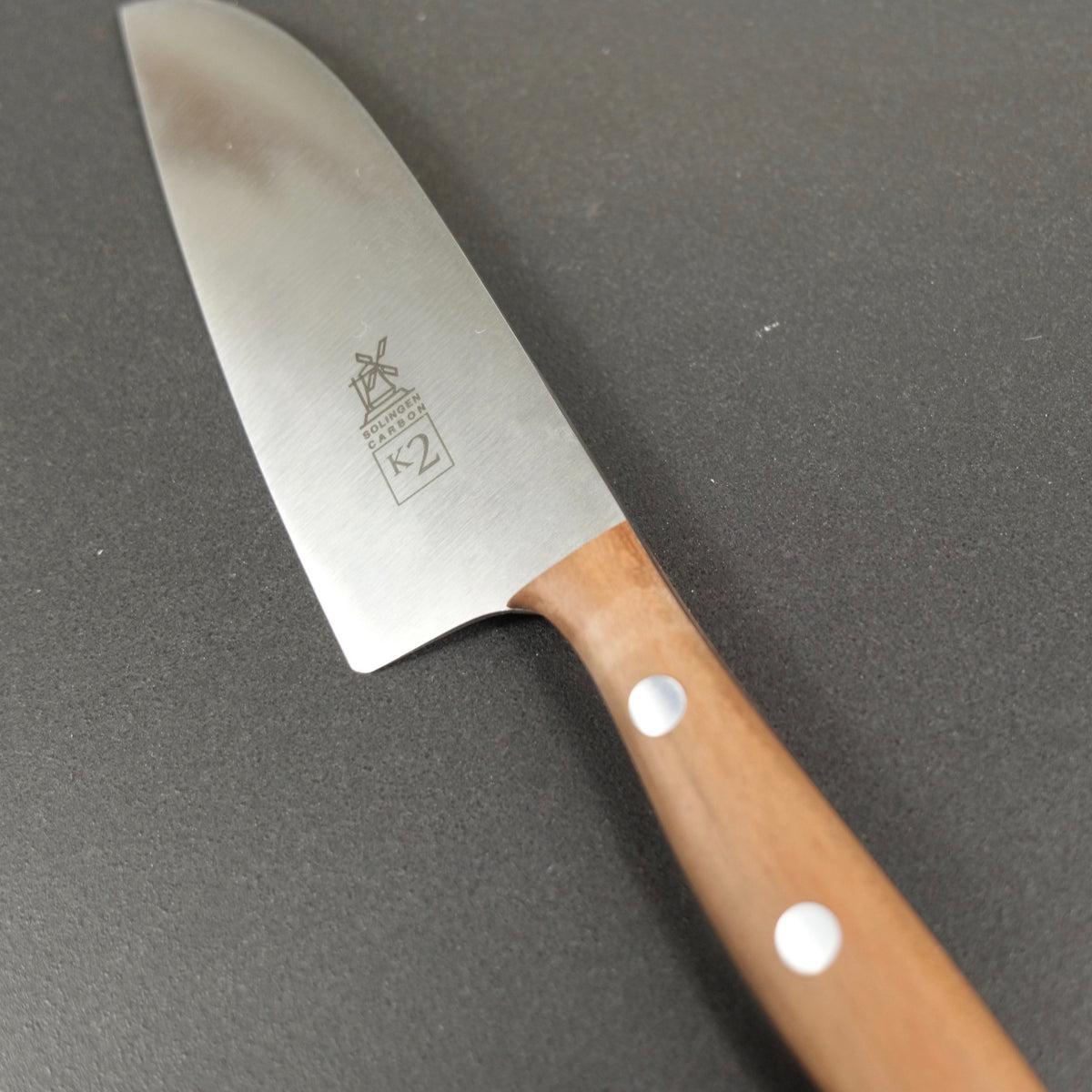 Small chef's knife K2, Carbon or Stainless steel - Windmühlenmesser