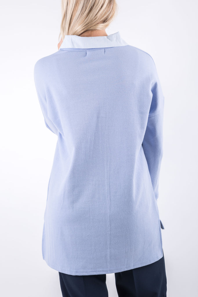 ELLIE TUNIC BLUE