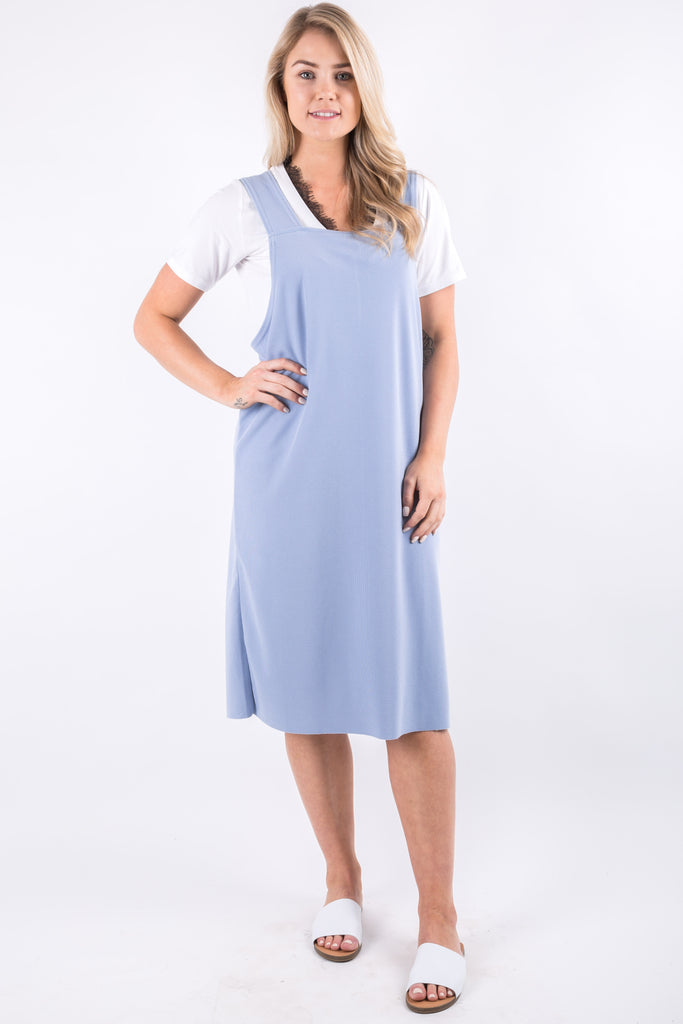 EMMA DRESS BLUE