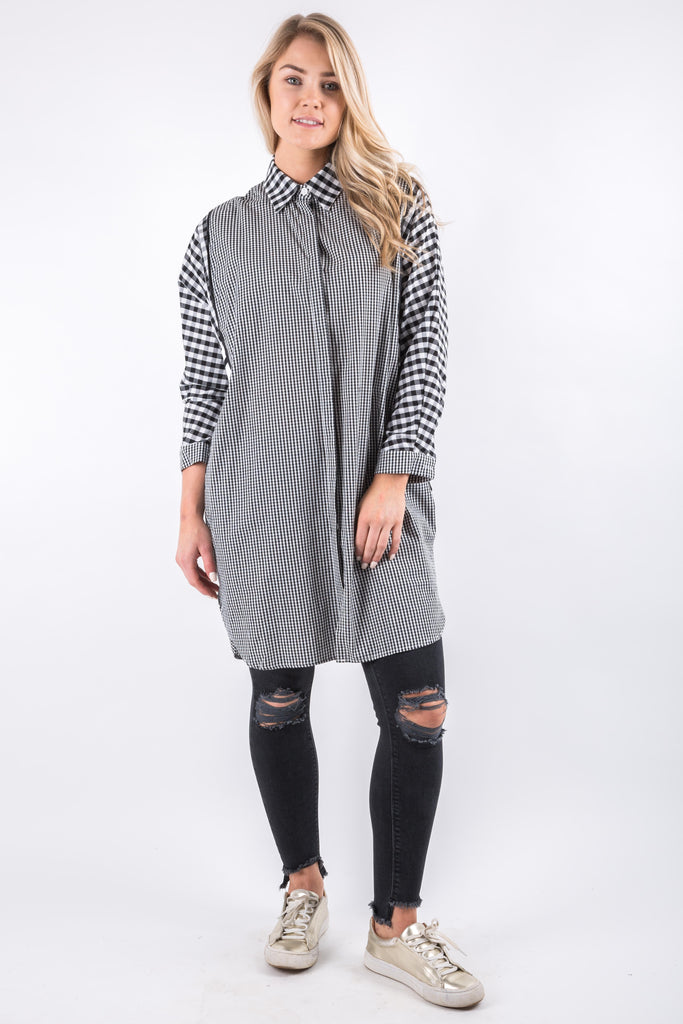 IVY LONG SHIRT BLACK