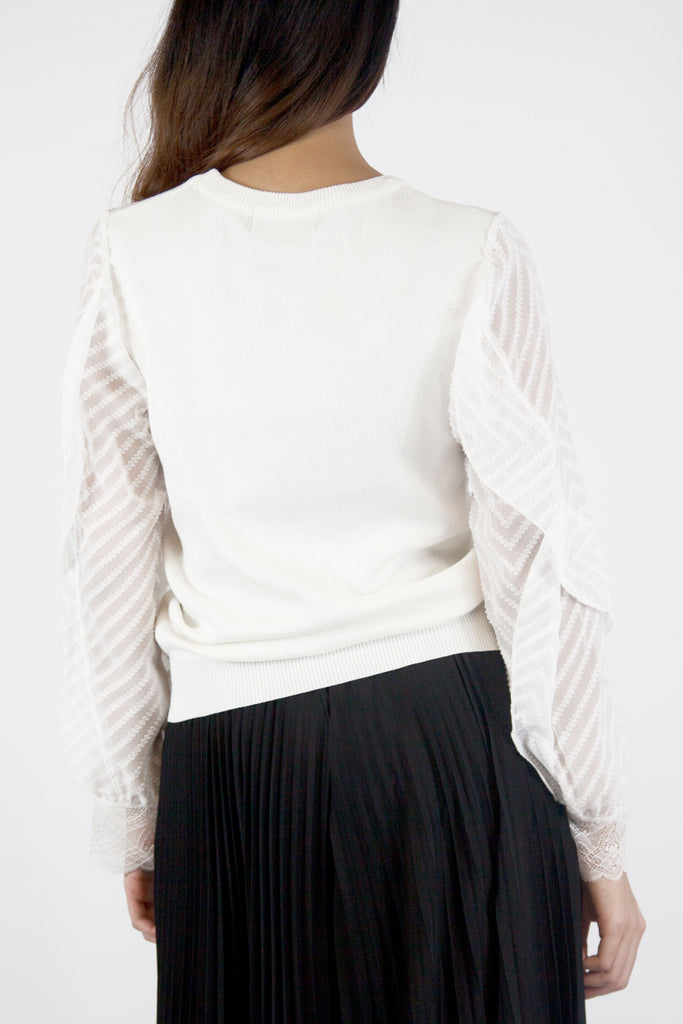 Holly Knit Top Cream